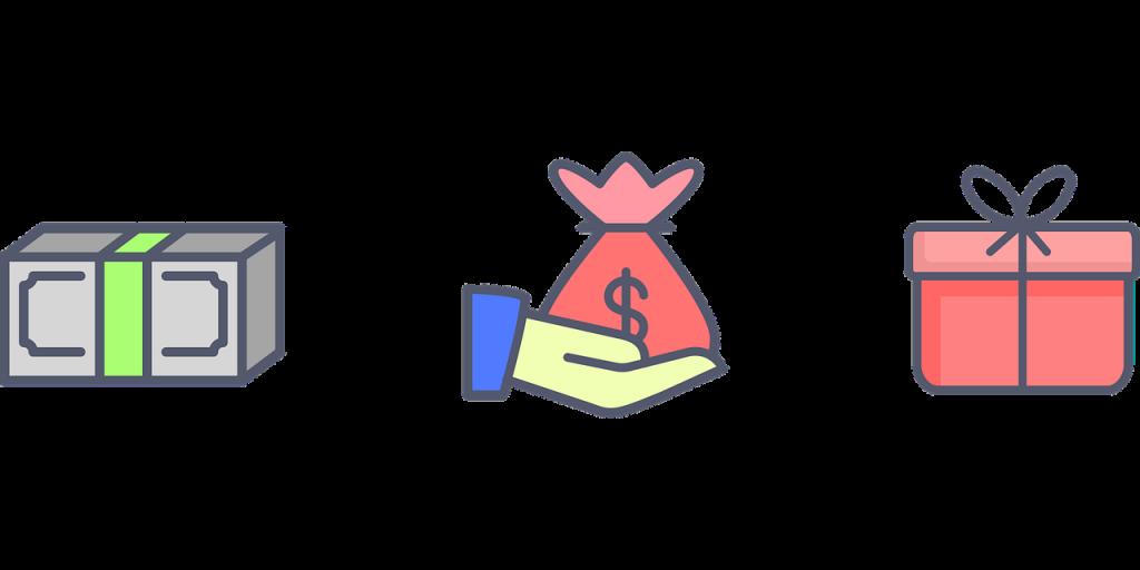 יד מושיטה כסף