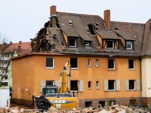 בית בתהליך שיפוץ