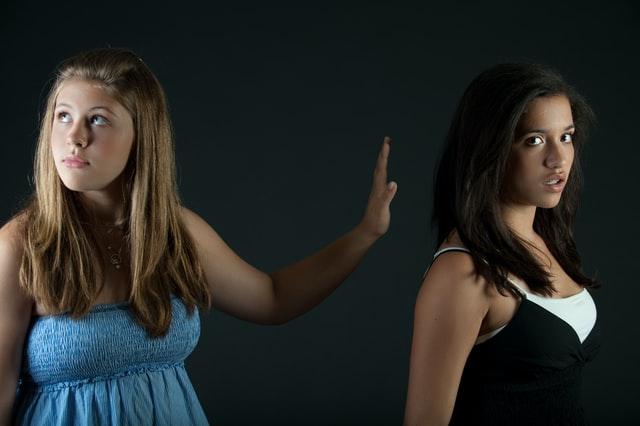 2 בנות באמצע ריב של העסק המשפחתי - אילוסטרציה